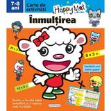 Happy Mat - Inmultirea 7-8 Ani, editura Girasol
