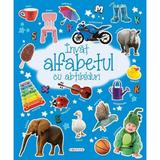 Invat Alfabetul Cu Abtibilduri, editura Girasol