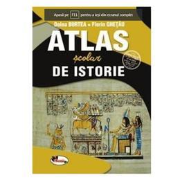 Atlas scolar de istorie - Doina Burtea, Florin Ghetau, editura Aramis