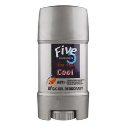 Deodorant Stick gel pentru el FIVE 5 Cool - SuperFinish - 65 g