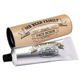 Crema Exfolianta pentru Barbati - Mr Bear Family Face Scrub 75 ml