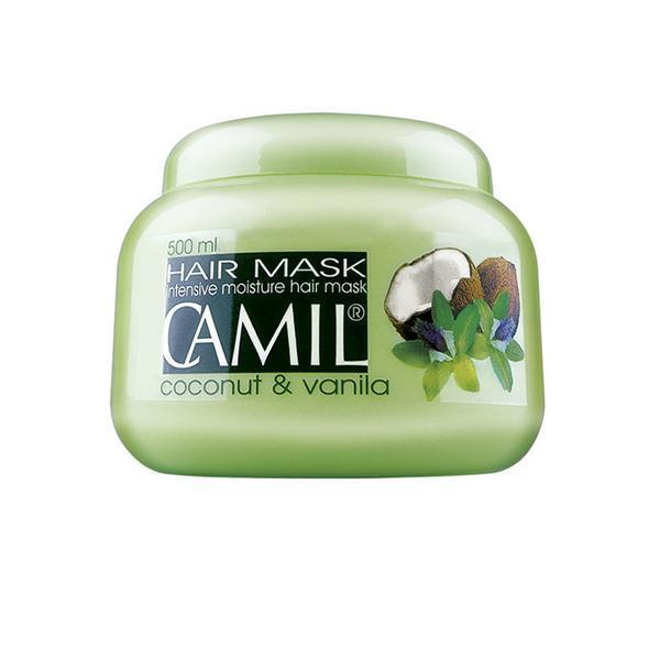 Masca de par cu cocos si vanilie Camil - SuperFinish - 500 ml imagine produs