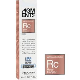 Pigment Concentrat Roz Aramiu Metalic - Alfaparf Milano Ultra Concentrated Pure Pigment Metallic Color ROSE COPPER 8 ml