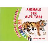 Animale Din Alte Tari - Coloram Si Invatam!
