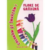 Flori De Gradina - Coloram Si Invatam!