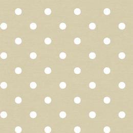 Fata de masa anti-pete Casa de bumbac, Neo, 280x140 cm, buline, bej