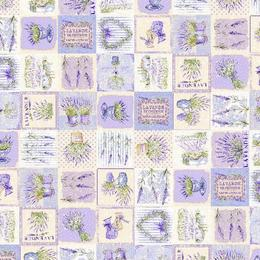 Fata de masa impermeabila (teflonata) Casa de bumbac, Lavender, 100x140 cm, Model Vintage, lavanda