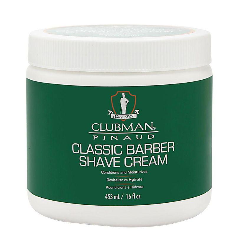 Crema pentru Barbierit - Clubman Pinaud Classic Barber Shave Cream 453 ml imagine produs