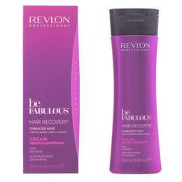 Balsam cu Keratina pentru Par Deteriorat - Revlon Professional Be Fabulous Hair Recovery C.R.E.A.M. Keratin Conditioner, 250ml