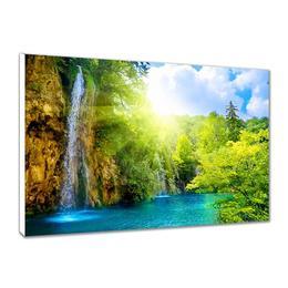 Tablou Canvas Cascada 80x50 cm, decoratiuni interioare - Piksel