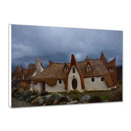 Tablou Canvas Castelul de Lut 80x50 cm - Piksel