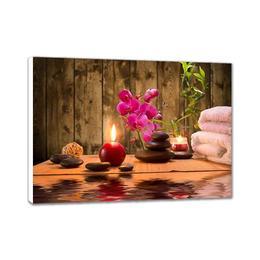 Tablou Canvas 80x60 Cm Feng Shui Zen Relaxare Decoratiuni Camera Birou - Piksel