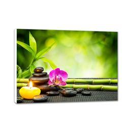 Tablou Canvas dreptunghi Feng Shui 100X60 cm Zen relaxare decoratiune - Piksel