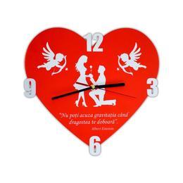 Ceas de perete iubire inimioara decoratiune cadouri speciale - Piksel