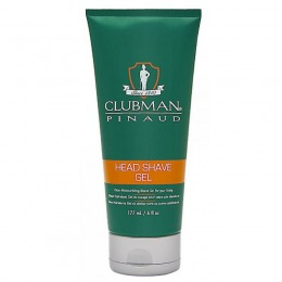 Gel Hidratant pentru Barbierit - Clubman Pinaud Head Shave Gel 177 ml