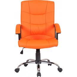 Scaun directorial US02 portocaliu - Unic Spot Ro