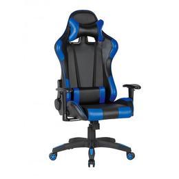 Scaun gamer US90 Silverstone negru-albastru - Unic Spot Ro