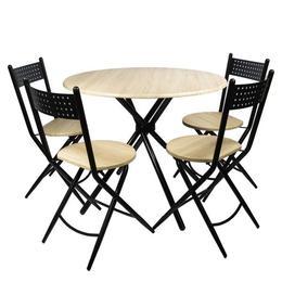 Set masa Kaliope cu 4 scaune pliante - Unic Spot Ro