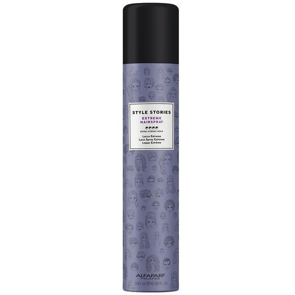 Spray Fixativ cu Fixare Extra Puternica - Alfaparf Milano Style Stories Extreme Hairspray, 500ml poza