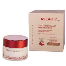 Crema Regeneranta Netezire Riduri - Aslavital Mineralactiv Regenerating Wrinkle Smoothing Cream, 50ml
