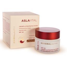 Crema Ultraprotectoare SPF 50 - Aslavital Mineralactiv Ultraprotective Cream, 50ml