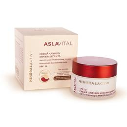 Crema Antirid Mineralizanta SPF 10 - Aslavital Mineralactiv Anti-Wrinkle Mineralizing Cream, 50ml
