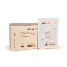 Pudra de Argila pentru Tratamente Cosmetice - Aslavital Mineralactiv Clay Powder for Cosmetic Treatments, 10 pliculete x 20g