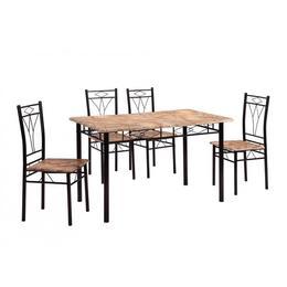 Set masa Vera cu 4 scaune, mozaic - Unic Spot Ro