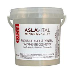 Pudra de Argila pentru Tratamente Cosmetice - Aslavital Mineralactiv Clay Powder for Cosmetic Treatments, 750g