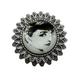 Brosa argintiu antic Nostalgic Art 2, GlamBazaar