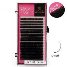 Extensii Gene False - Macy Premium Mink Lashes D 0,10t X 10 Mm