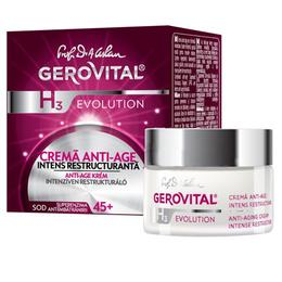 Crema Anti-Age Intens Restructuranta - Gerovital H3 Evolution Anti-Aging Intense Restructuring Cream, 50ml