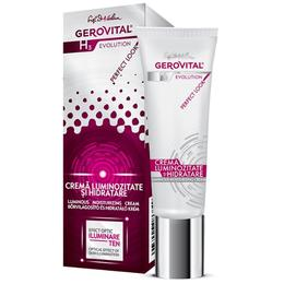 Crema Luminozitate si Hidratare - Gerovital H3 Evolution Luminous Moisturizing Cream, 30ml