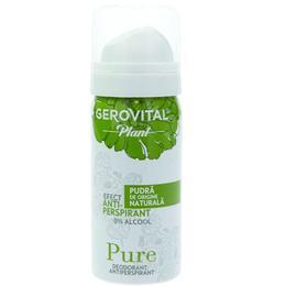 Deodorant Antiperspirant Gerovital Plant - Pure, 40ml