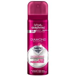 Deodorant Antiperspirant cu Acid Hialuronic Gerovital H3 Evolution - Diamond Woman, 150ml