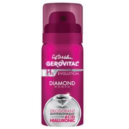 Deodorant Antiperspirant cu Acid Hialuronic Gerovital H3 Evolution - Diamond Woman, 40ml