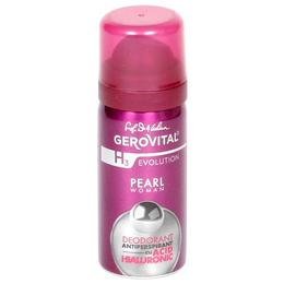 Deodorant Antiperspirant cu Acid Hialuronic Gerovital H3 Evolution - Pearl Woman, 40ml