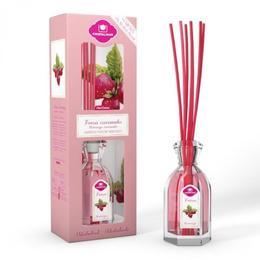 Odorizant cameră Cristalinas 0% alcool Căpșuni și caramel - vitalitate, 90 ml