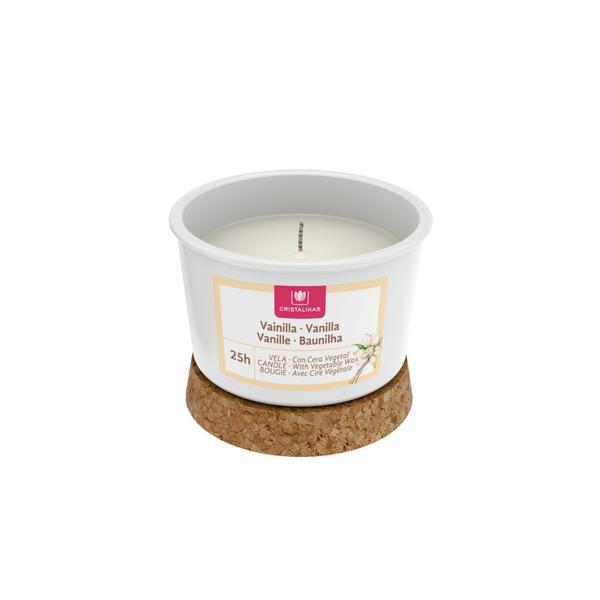 Lumanare naturala Gelatto Vanilie Cream 25 ore - 350 g esteto.ro