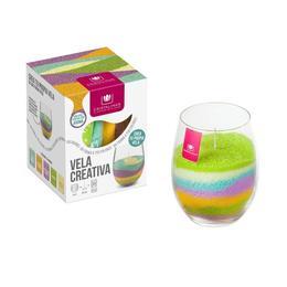 Kit complet Lumânare Cristalinas creativă 5*35 gr