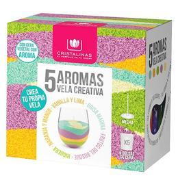 Rezerva Lumanare parfumata Cristalinas – creativa 5* 35 gr de la esteto.ro