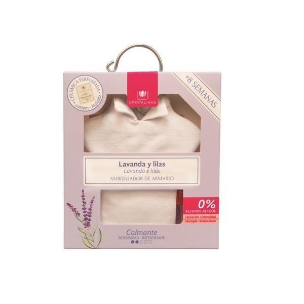 Odorizant dulap Cristalinas - lavandă şi liliac - linistitor imagine produs