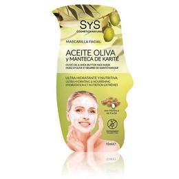 Mască faţă ulei de măsline & shea - Laboratorio Sys - 15 ml