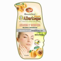 Mască faţă saună caise - Laboratorio SyS - 15 ml