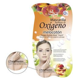 Mască faţă cu bule de oxigen & piersici - Laboratorio SyS - 2x3,5 ml