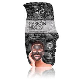 Mască faţă peeling cărbune negru - Laboratorio SyS - 10 ml