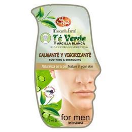 Mască bărbați ceai verde & argilă albă - Laboratorio SyS - 15 ml