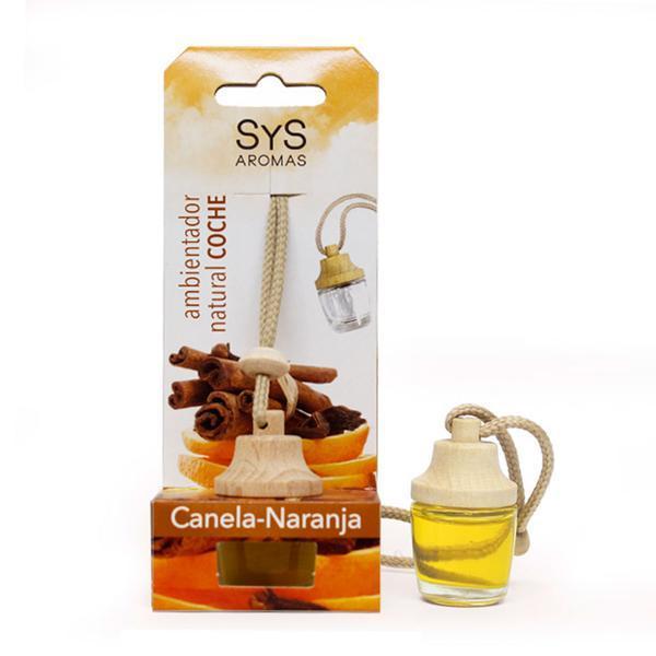 Odorizant auto Laboratorio SyS - scorţişoară & portocală 7 ml esteto.ro