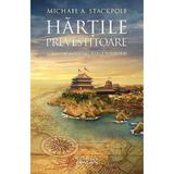 Hartile prevestitoare (Trilogia Marile Descoperiri, partea a II-a) Michael A. Stackpole - editura Nemira