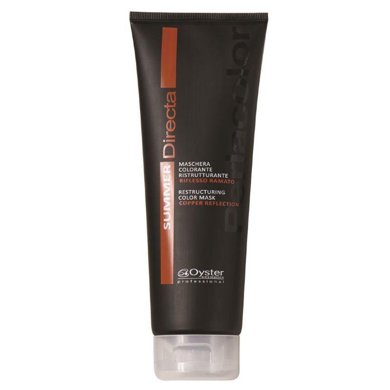 Masca Coloranta Restructuranta Aramiu - Oyster Cosmetics Directa Summer Restructuring Color Mask 250 ml